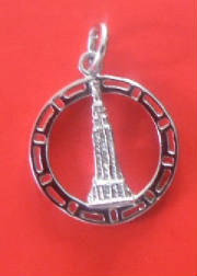 Sterling Silver Empire Charm