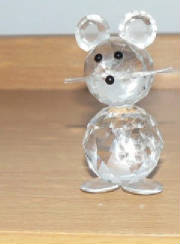 Small crystal mouse